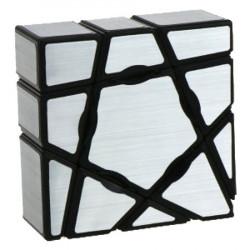 YJ 1x3x3 Floppy Ghost Cube Silver