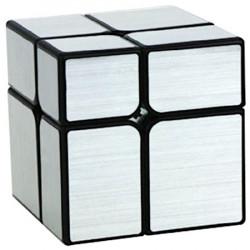 YJ 2x2 Mirror Cube Silver