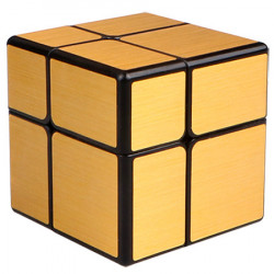 QiYi 2x2 Mirror Cube Gold