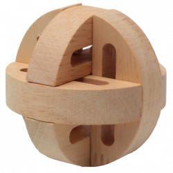 Circular Ball - Wooden Puzzle 3