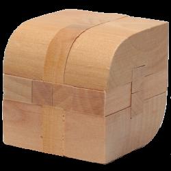 Leaf Shape Lock - Wooden Puzzle 5