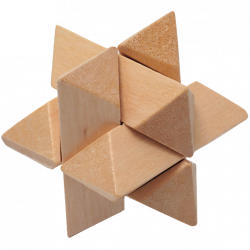 Octagonal Ball - Wooden Puzzle 9