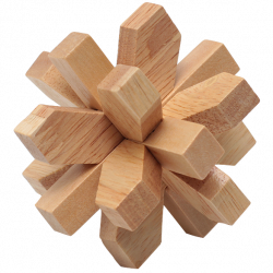 Plum Blossom lock - Wooden Puzzle 12