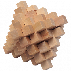 Natural Pineapple - Wooden Puzzle 14