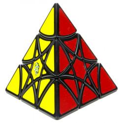 LanLan Curvy Hexagram Pyraminx Cube Black