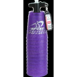 Speed Stack - Premium Metallic SpeedStacks Purple  + Quick Releaes Stem