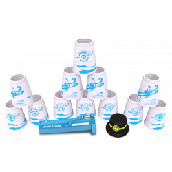 Speed Stack - Pro Series 2 White Set + Stem & Cup keeper