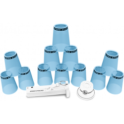Speed Stack - Pro Series 2 X Blue Ice + Stem & Cup keeper