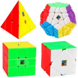 MFJS MeiLong Non-Cubic Gift Box - 4 Magic Cubes Bundle