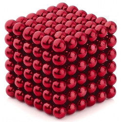 Neo Cubes 216 Pieces 5mm Magnetic Balls Red