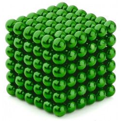 Neo Cubes 216 Pieces 5mm Magnetic Balls Green