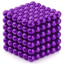 Neo Cubes 216 Pieces 5mm Magnetic Balls Purple