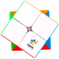 YuXin Black Kirin 2x2 Stickerless
