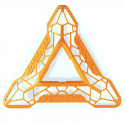 QiYi DNA Cube Stand Orange