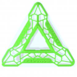 QiYi DNA Cube Stand Green
