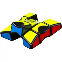 QiYi 1x3x3 Fidget Spinner (Tiled) Black