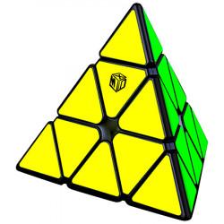 QiYi X-Man Bell V2 Magnetic Pyraminx Black