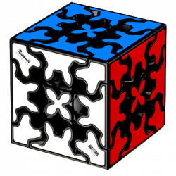 QiYi Gear Cube 3x3 Black