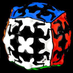QiYi Gear Sphere Black (Tiled)