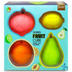 FanXin Fruit Cube Gift Box - Pear, Orange, Lemon, Peach
