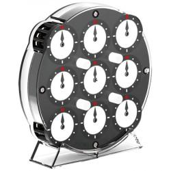 QiYi Clock Magnetic Black