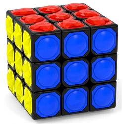 YJ 3x3 Blind Cube Black