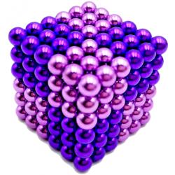 Neo Cubes 216 stk. 5mm Magnetic Balls Mix Purple Colour