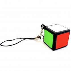 Z 1x1 Cube Keychain Black