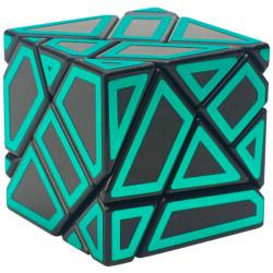 Ninja Ghost Cube Black (Green Stickers)