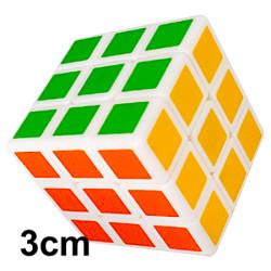 QiYi Mini 3cm 3x3 Cube White