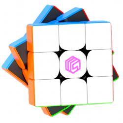 MsCube MS3-V1 M 3x3 (Enhanced) Stickerless (Black Core)