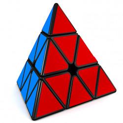MFJS Meilong Pyraminx Magnetic Black