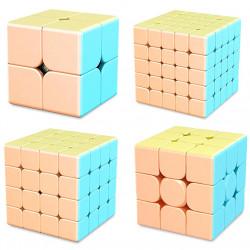 MFJS MeiLong Gift Box - 2x2, 3x3, 4x4, 5x5 Bundle Macaron