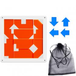 Make 4 Arrows Puzzle Orange (12 Pieces)
