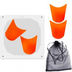 Orange Ghost Puzzle (4 Pieces)