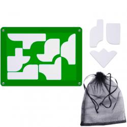 9 Shapes Puzzle Soft (9 Pieces)
