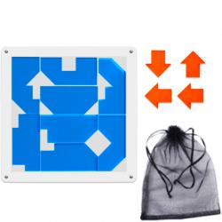 Make 4 Arrows Puzzle Blue (12 Pieces)