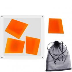Trapez Puzzle Orange (4 Pieces)