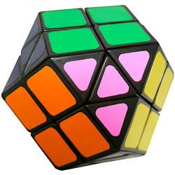 WitEden Rainbow Magic Cube Black