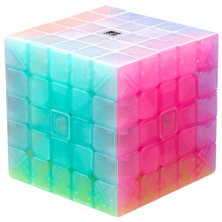 QiYi QiZheng S 5x5 Jelly Transparent
