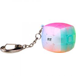 QiYi Pillow 3x3 Keychain Cube Jelly Transparent