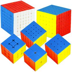 DianSheng Solar System 2x2-7x7 Magnetic Stickerless Bundle