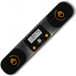 GAN Smart Timer Black (Bluetooth)