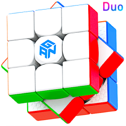 GAN 11 Magnetic Duo 3x3 Stickerless