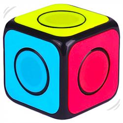 QiYi O2 1x1 Cube Spinner Version Black