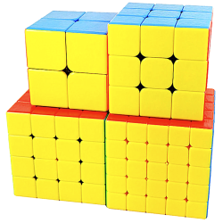 ShengShou Gem 2x2, 3x3, 4x4, 5x5 Gift Box Bundle
