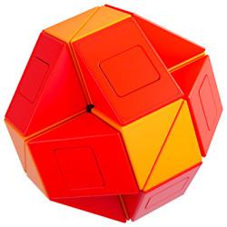 Monster GO Twist Snake Cube 24 Blocks Red/Orange